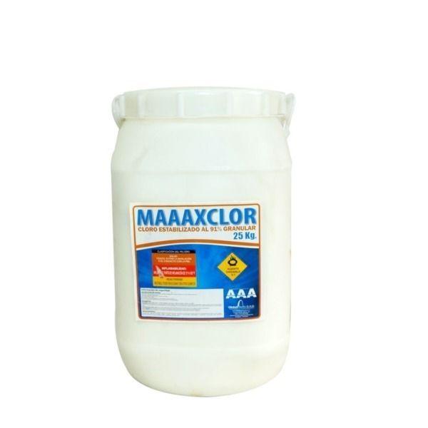 cloro-granulado-al-91% -25-kg -quimicos-piscina-globalpacificsas