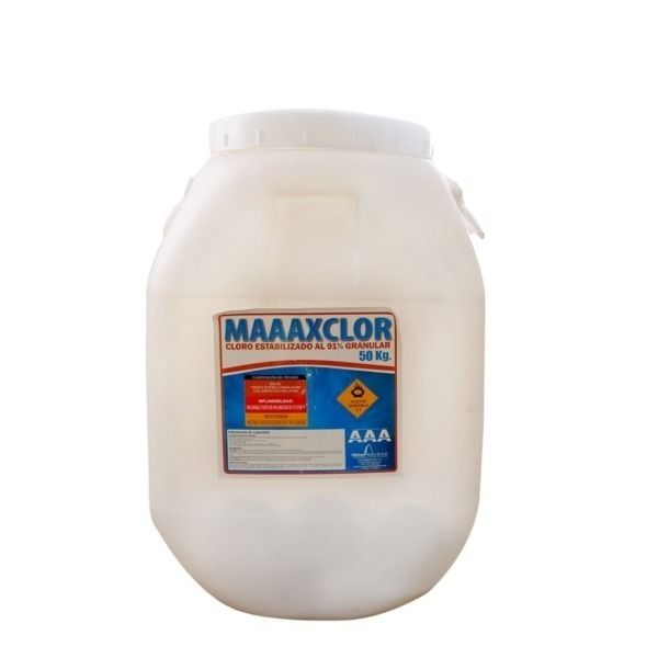 cloro-granulado-al-91% -50-kg -quimicos-piscina-globalpacificsas